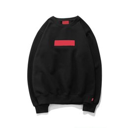 Wholesale Neck Warmers Men - Tide Brand hoodie Autumn Winter warm designer mens hoodies sweatshirt hip pop streetwear hoodies for men women