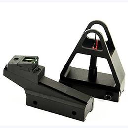 Avcılık Ayarlanabilir Hızlı ayrılabilir AR15 Fiber Optik Açık Ön Arka Demir Sights Kırlangıç 3/8 Inç 11mm Ray Dağı nereden