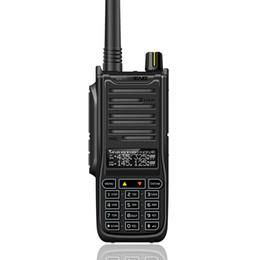 Wholesale Long Range Two Way Radios - New Baofeng UVB2 Walkie Talkie High Power Portable Two Way Radio VHF UHF UV Dual Band BF-UVB2 UV-6RA PTT Transceiver Long Range