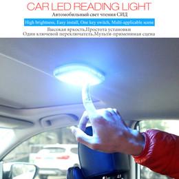 2019 luz de emergência magnética conduziu luzes Leitura do carro Lâmpada de Cúpula Multifuncional LEVOU Luz Interior Livre Reequipamento Luz de Sucção Magnética Luz De Emergência Portátil Para Carro Casa luz de emergência magnética conduziu luzes barato