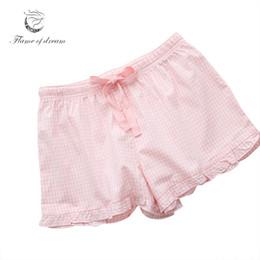 100% Cotton Sleeping Shorts Women Sleep Shorts Home Pants Pajama 8766.  Supplier  begonier 7fc484732