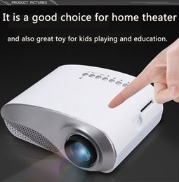 2019 menor tv lcd 2018 Mini LED Projetor Home Theater Portátil Vídeo Projetor Home Multimídia Cinema TV Laptops Smartphones RD-802 Branco