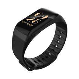 F601 Smart Bracelet Montre Écran Couleur Étanche Bluetooth Sport Fitness Tracker Moniteur de Fréquence Cardiaque de la Pression Artérielle Santé Smart Bracelet ? partir de fabricateur