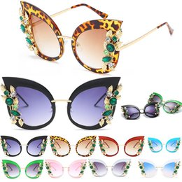 Aimade 2018 New Cat Eye Sunglasses Mujeres Marca Diseñador Moda Leopard  Pink Frame Cateye Sun Gafas Para Mujer UV400 marcos femeninos en venta 2f933ba164a2