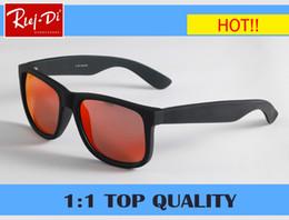 Wholesale Wrap Top Red - RLEI DI Classic Men Women gradient 4165 Sunglasses Brand Designer top quality uv400 Sunglasses vintage mirror Color Male Sun Glasses gafas