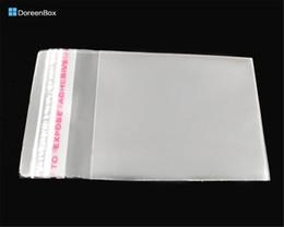 Doreen Box hot- 200 PCs sachets en plastique à joint auto-adhésif transparent 6x4cm (B04010) ? partir de fabricateur