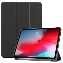 """Casque flip folio en Ligne-iPad Pro 11 """"2018 Flip Smart Cover Etui en cuir PU avec veille automatique Réveillez-vous pour Apple iPad PRO Tablette 11 pouces + Stylet"""