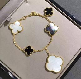 silber armband frauen einfache verschluss Rabatt Europäische und amerikanische Mode edle heiße Blumen Serie Frauen vier Jahreszeiten wildes Armband