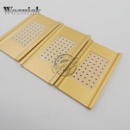 reparación de la pantalla del borde s6 Rebajas Wozniak para S6 edge S7 edge Reparación de pantalla táctil de vacío LCD Separador Máquina Molde Molde de molde de metal