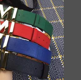 Wholesale Bronze Jeans - New famous designer belts men's and women's high-quality belts leather waistband 125cm casual belt black denim jeans party dress 4.0