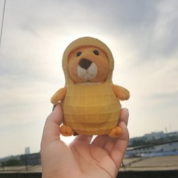 Wholesale Peanuts Doll - INS Plush Hamster Peanut Removable Shell Stuffed Hamster Toy Soft Mouse Animals Doll Lovely Kids Gift for Girls Boys