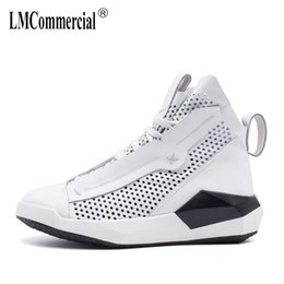 Wholesale British Matches - Men's sandals in summer 2018 new outdoor leisure shoes men British retro all-match cowhide high sandals Genuine Leather casual