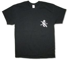 Музыка черных ангелов онлайн-ХОРОШО. GOOD Music Angel Херувим Черная футболка Новый Официальный Merch Kanye West