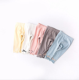 Wholesale Free Love Heart - 5 color 2018 INS new arrival baby kids candy color underpants spring autumn cute love heart high quality cotton pants free shipping