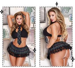 Wholesale sexy women bras - Sexy Women Underwear Sets New Arrival Hot Plaid Tie Bralet Bra Lace Lingerie Outfits Large Size Lace Underwear Suits