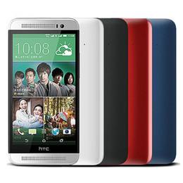 Wholesale one quad - Refurbished Original HTC ONE E8 5.0 inch Quad Core 2GB RAM 16GB ROM 13MP Camera 4G LTE Android Single Dual SIM SmartPhone