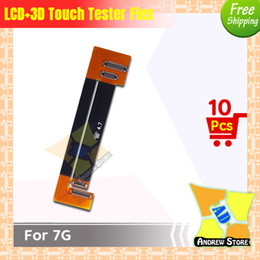 Wholesale Testing Flex - 10pcs lot High Quality LCD Screen Display Test 3D Touch Screen Extension Tester Flex Cable for iPhone 7 7G free shipping