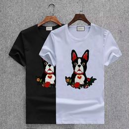 2019 collari per cani per le donne trasporto libero 2018 estate nuovo polo cane ricamo collare uomo donna casual cotone designer t-shirt ape t-shirt camicia collari per cani per le donne economici