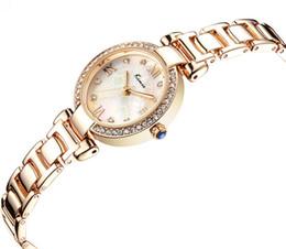 ea0540ed7 Para mujer 2018 Kimio marca relojes reloj de mujer de las señoras Crystal  Dress reloj moderno reloj de pulsera de acero inoxidable de cuarzo analógico  ...
