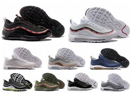 Wholesale Concepts Fashion - Men's 97 Ultra '17 OG QS Running Shoes Fashion Street Culture Art Bullet Design Concept Indoor & Outdoor High Quality Sports Shoes