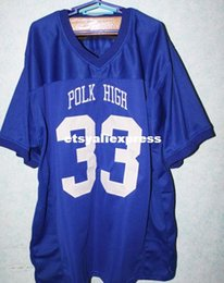 Wholesale Children Size Jerseys - AL BUNDY #33 POLK HIGH Football Jerseys MARRIED WITH CHILDREN JERSEY Customize any number size and player name