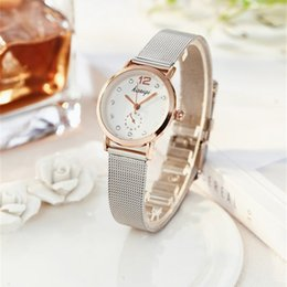 780692a9539 2018 Casual Relogio Couples Watches Luxury Ladies stainless steel Popular  Wristwatch Female Quartz Watch Lover s Gift Clock