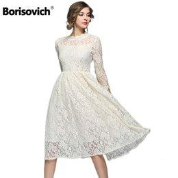 2019 vestito dal merletto delle donne di stile europeo Borisovich nuovo  arrivo 2018 moda primavera stile 7614d82de67