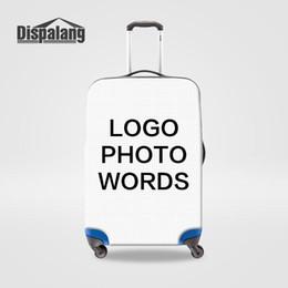 Водонепроницаемые чемоданы онлайн-Настройте свой собственный дизайн защитный чехол для багажа для 18-30 дюймов багажник водонепроницаемый пылезащитный дождь чемодан чехлы для тележек дорожные аксессуары