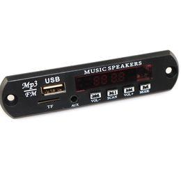 2019 5v dc stromversorgungsmodul MP3 Decoder Board DC 5V 12V USB Netzteil TF FM Radio Audio Modul AUX Fernbedienung für Auto Remote Music Speaker günstig 5v dc stromversorgungsmodul