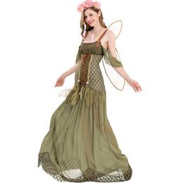 Canada Costume de fée Halloween Elf Angel Flower Flower Dress 2018 Nouveau design pour femme Offre