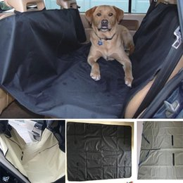 Wholesale cars supplies - Dog Car Seat Covers Pet Cat Waterproof Car Cushion For Cars Trucks Hammock Convertible Pet Supplies Accessories 145*130cm HH7-1249