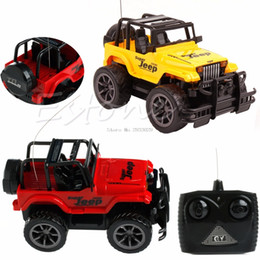 Wholesale Electric Rc Jeep - Cool 1:24 Drift Speed Radio Remote control RC Jeep Off-road vehicle Car kids Toy Gift -B116