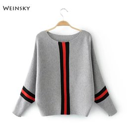 0c72090b2b4 Weinsky Casual Style Women Knitted Sweater And Pullovers Full Sleeve Ladies  Sweaters Female Winter And Autumn 2018