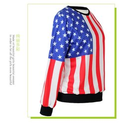Wholesale Ladies Fall Sweaters - 2018 new spring summer fashion casual women BEAUTIFUL shirt sweater lady sports running ourdoor high quality luxury 3D print white fall bric
