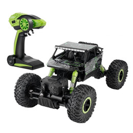 Wholesale Radio Controller Rc - OBCANOE Radio control RC Buggy 4WD Off-Road Car Outdoor Complex Terrain Powerful Motor Huge Rubber Tires (Black & Green)