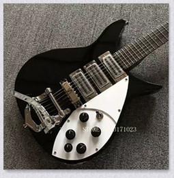Wholesale China Guitars For Sale - black 325 381 330 360 Model 3 pickups electric Guitar China Guitar HOT SALE