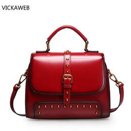 famous brand women shoulder bag vintage genuine leather bags luxury  designer women leather handbags ladies crossbody bags c13ee9a2460d8