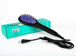 Wholesale fix straight hair - High quality new ceramic straight hair comb massage hair straightener hair care and salon supplies free shipping