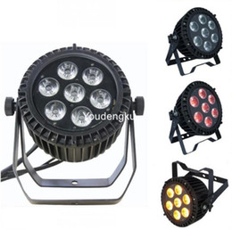 Wholesale Auto Watts - 4 pieces 7x10w led par rgbw quad wash led 7x10 watt rgbw par led outdoor