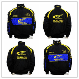 coches de carreras nascar Rebajas Traje de chaqueta de algodón bordado mayor-F1 Racing Nascar Moto Car Team
