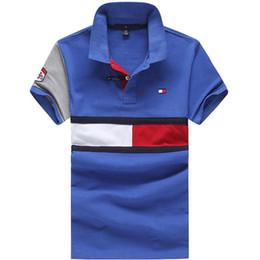 business prints 2018 - Luxury brand poloshirt shirt for men new fashion turn down collar t shirt for men casual business polo men free shipping