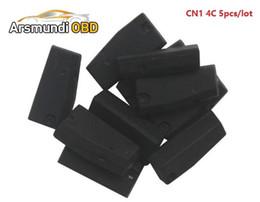 Wholesale Toyota 4c Key Programmer - 5pcs x CN1 Chip Copy 4C chip Transponder CN1 Chip For ND900 CN900 Auto Key Programmer