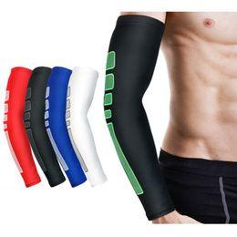 1 vêtement de sport respirant de protection respirant de sports de basket-ball de manche de bras de PC SPSLF0010 ? partir de fabricateur