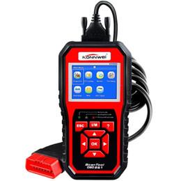 2019 bluetooth hud OBDII Selbstdiagnose Code Scanner KONNWEI KW850 Universal Fahrzeugmotor O2 Sensor Systems Scanner OBD2 EOBD Scanner Tool Check Engine Lig