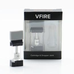 Bateria surpreender on-line-Original ALD VFIRE atomizar capacidade de 0.9 ml cartuchos recarregáveis cigarro eletrônico magnético com bobina de cerâmica fit ALD surpreender Vfire bateria