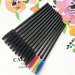 Wholesale Eyelash Cleaner - Hot sale disposable eyelash brush Lash Comb convenient and clean eyelash makeup brush eyelash volume T3F0007