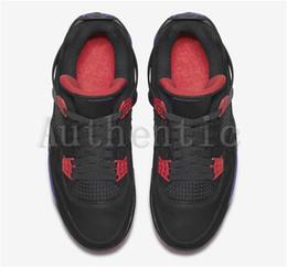 afe33adead2b 2018 Newest Release 4 Drake NRG Raptors 4S IV Basketball Shoes Sneakers For  Men Black Purple Red AQ3816-056 Drake Raptors Training Shoes