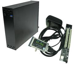 Tarjetas de slot pci express online-Laptop Expresscard 34mm 54mm a 2 PCI 32 bit slots adaptador Express Card Riser tarjeta para PCI sonido serial paralelo
