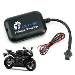 cars tracking Promo Codes - Car GPS Tracker Motorcycle Tracker GPS GSM GPRS SMS 12V Real Time Tracker Tracking Vehicle Electric Bicycle Portable Mini GPS Locator