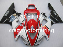 Wholesale 98 R1 Fairings White Black - 3Gifts New Hot sales bike Fairings Kits For YAMAHA YZF-R1 1998 1999 r1 98 99 YZF1000 Black red White FI4